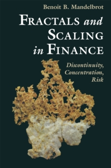 Fractals and Scaling in Finance : Discontinuity, Concentration, Risk. Selecta Volume E, PDF eBook