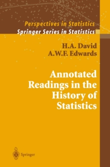 Annotated Readings in the History of Statistics, PDF eBook