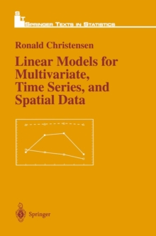 Linear Models for Multivariate, Time Series, and Spatial Data, PDF eBook