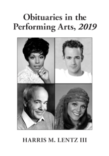 Obituaries in the Performing Arts, 2019, PDF eBook