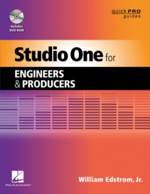 Studio One for Engineers and Producers, Mixed media product Book