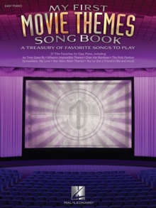 My First Movie Themes Songbook, Paperback Book