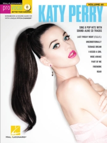Pro Vocal Women's Edition Volume 60 : Katy Perry (Book/CD), Paperback Book