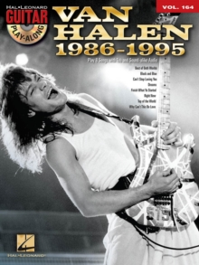 VAN HALEN 1986-1995 GUITAR PLAY ALONG, Paperback Book