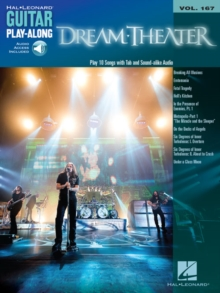 DREAM THEATER GUITAR PLAYALONG VOL167, Paperback Book