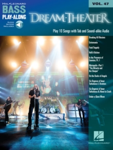 Dream Theater : Bass Play-Along Volume 47 Book/2-CD Pack, Mixed media product Book