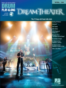 Dream Theater Drum Play-Along Volume 30, Book Book