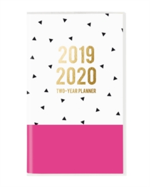 TRIANGLES 2019 2 YEAR PLANNER, Paperback Book