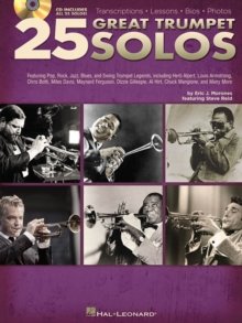 25 Great Trumpet Solos (Book/Audio), Paperback / softback Book