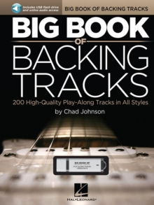 Big Book of Backing Tracks - 200 High-Quality Play-Along Tracks in All Styles, Paperback Book