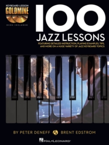 Keyboard Lesson Goldmine : 100 Jazz Lessons (Book/2 CDs), Paperback Book