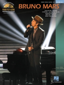 Piano Play-Along Volume 126 : Bruno Mars, Paperback Book
