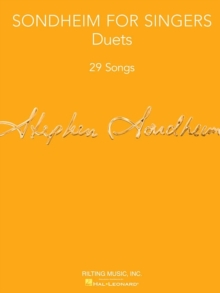 Sondheim For Singers : Duets, Paperback Book