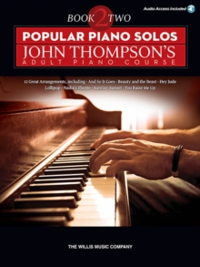 Popular Piano Solos : John Thompson's Adult Piano Course - Book 2 (Book/Online Audio), Paperback Book
