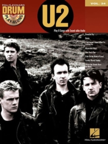 Drum Play-Along Volume 34 : U2 (Book/CD), Paperback Book