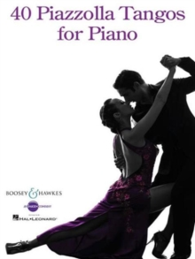 40 PIAZZOLLA TANGOS FOR PIANO, Paperback Book