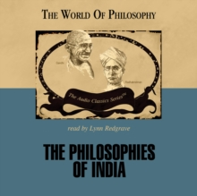 The Philosophies of India, eAudiobook MP3 eaudioBook