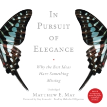 In Pursuit of Elegance, eAudiobook MP3 eaudioBook