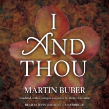 I and Thou, eAudiobook MP3 eaudioBook