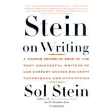 Stein on Writing, MP3 eaudioBook