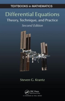 Differential Equations : Theory, Technique and Practice, Second Edition, Hardback Book