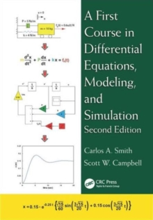 A First Course in Differential Equations, Modeling, and Simulation, Hardback Book