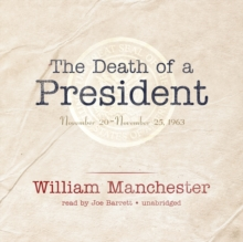 The Death of a President, eAudiobook MP3 eaudioBook