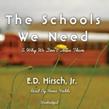 The Schools We Need, eAudiobook MP3 eaudioBook