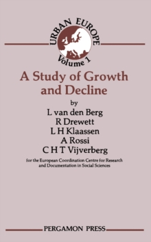 A Study of Growth and Decline : Urban Europe, PDF eBook