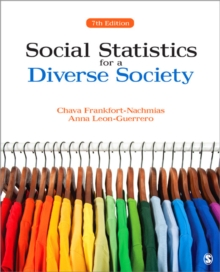 Social Statistics for a Diverse Society, Paperback / softback Book