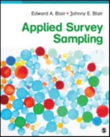 Applied Survey Sampling, Paperback Book