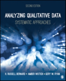 Analyzing Qualitative Data : Systematic Approaches, Paperback Book