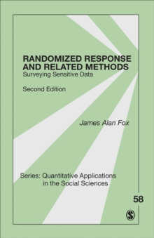Randomized Response and Related Methods : Surveying Sensitive Data, Paperback Book