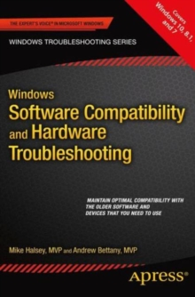 Windows Software Compatibility and Hardware Troubleshooting, Paperback / softback Book