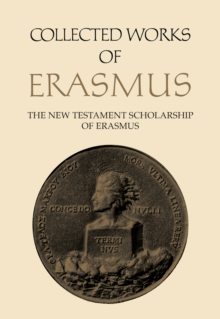 The New Testament Scholarship of Erasmus : The New Testament Scholarship of Erasmus, PDF eBook