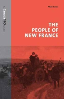 The People of New France, Paperback Book