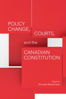 Policy Change, Courts, and the Canadian Constitution, EPUB eBook