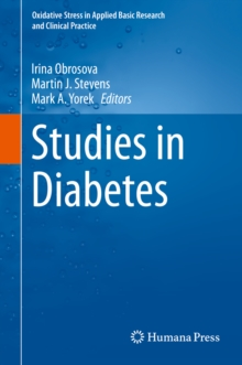 Studies in Diabetes, PDF eBook