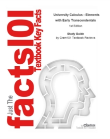 University Calculus , Elements with Early Transcendentals, EPUB eBook