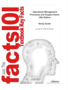 Operations Management, Processes and Supply Chains : Business, Management, EPUB eBook
