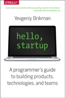 Hello, Startup, Paperback / softback Book
