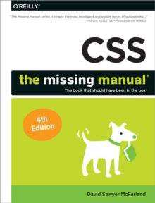 CSS - The Missing Manual, 4e, Paperback / softback Book