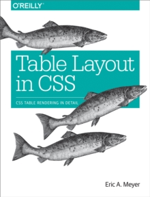 Table Layout in CSS : CSS Table Rendering in Detail, PDF eBook