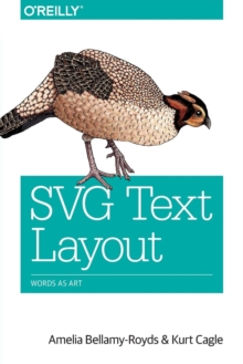 SVG Text Layout, Paperback Book