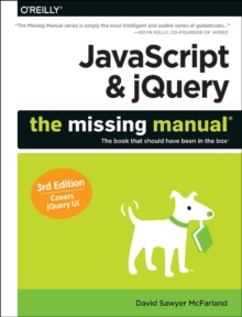 JavaScript & jQuery: The Missing Manual, Paperback Book