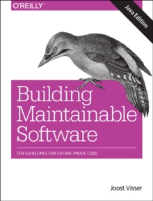 Building Mantainable Software, Java Edition, Paperback / softback Book