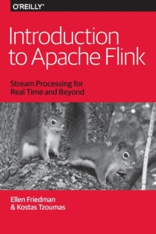 Introduction to Apache Flink : Stream Processing for Real Time and Beyond, Paperback Book