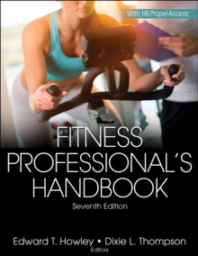 Fitness Professional's Handbook 7th Edition With Web Resource, Hardback Book