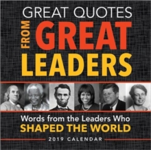 2019 Great Quotes from Great Leaders Boxed Calendar, Calendar Book