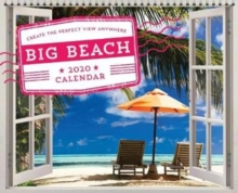 2020 Big Beach Wall Poster Calendar : Create the Perfect View Anywhere, Calendar Book